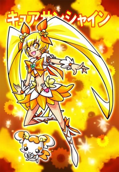 Tags: Anime, Yukichi, Heartcatch Precure!, Cure Sunshine, Potpourri, Myoudouin Itsuki, Fanart From Pixiv, Pixiv, Fanart