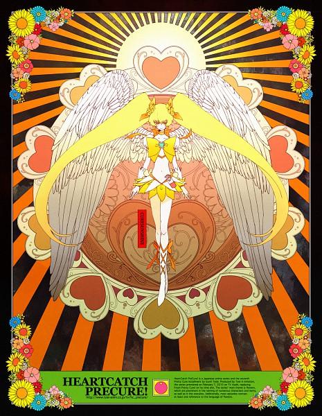 Tags: Anime, Pixiv Id 373336, Heartcatch Precure!, Myoudouin Itsuki, Cure Sunshine, Pixiv, Fanart
