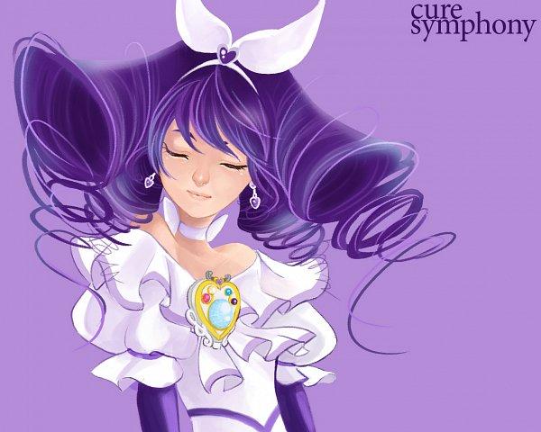 Tags: Anime, cnove, Suite Precure♪, Higashiyama Seika, Cure Symphony, Fanart From Pixiv, Pixiv, Fanart
