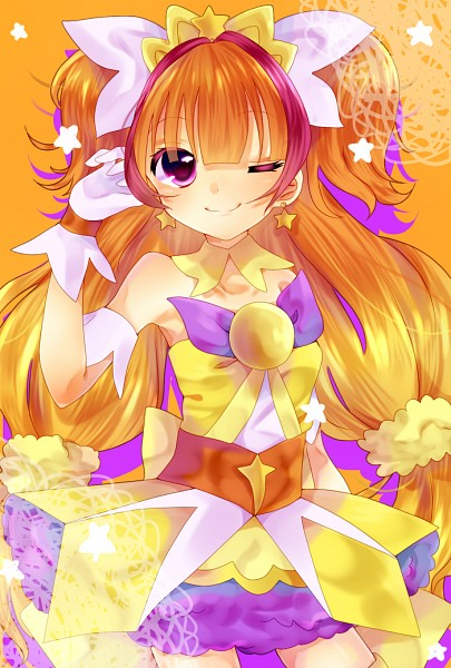 Tags: Anime, Pixiv Id 2107061, Go! Princess Precure, Amanogawa Kirara, Cure Twinkle, Fanart From Pixiv, Pixiv, Fanart
