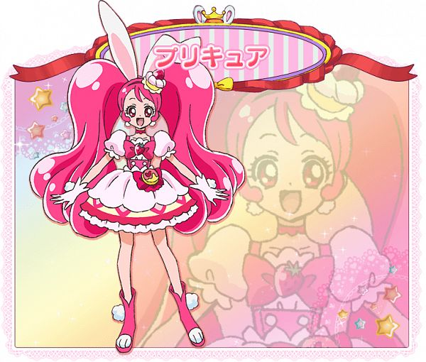 Tags: Anime, Ino Marie, Toei Animation, Kirakira☆Precure a la Mode, Usami Ichika, Cure Whip, PNG Conversion, Official Art, Cover Image