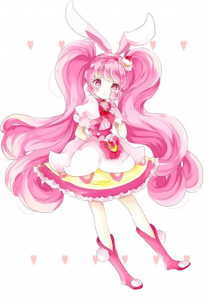 Tags: Anime, Tsukiyo, Kirakira☆Precure a la Mode, Usami Ichika, Cure Whip, Fanart, Mobile Wallpaper, Fanart From Pixiv, Pixiv