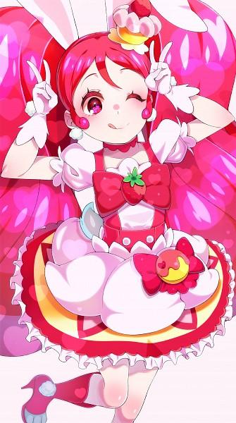 Tags: Anime, Yubiteru, Kirakira☆Precure a la Mode, Usami Ichika, Cure Whip, Fanart From Pixiv, Pixiv, Fanart