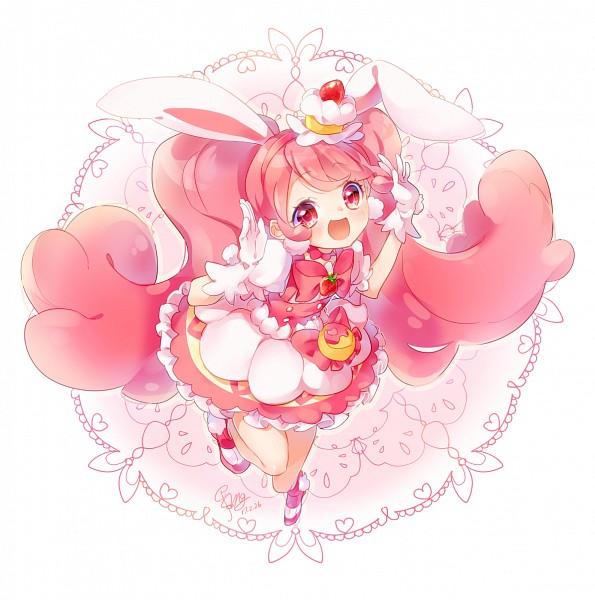 Tags: Anime, Shimogu, Kirakira☆Precure a la Mode, Usami Ichika, Cure Whip, Fanart From Pixiv, Pixiv, Fanart