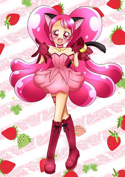 Tags: Anime, Pixiv Id 13140532, Kirakira☆Precure a la Mode, Usami Ichika, Cure Whip, Tokyo Mew Mew (Parody), Mew Ichigo (Cosplay), Fanart From Pixiv, Pixiv, Fanart