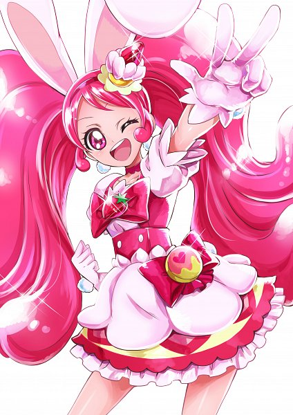 Tags: Anime, Sharumon, Kirakira☆Precure a la Mode, Usami Ichika, Cure Whip, Fanart, Twitter, Fanart From Pixiv, Pixiv