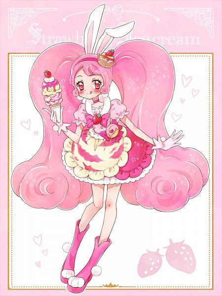 Tags: Anime, Pixiv Id 23770835, Kirakira☆Precure a la Mode, Usami Ichika, Cure Whip, Cure Gelato (Cosplay), Fanart, Fanart From Pixiv, Pixiv