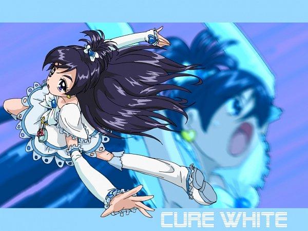 Tags: Anime, Pixiv Id 62981, Futari wa Precure, Cure White, Yukishiro Honoka, Fanart From Pixiv, Wallpaper, Pixiv, Fanart