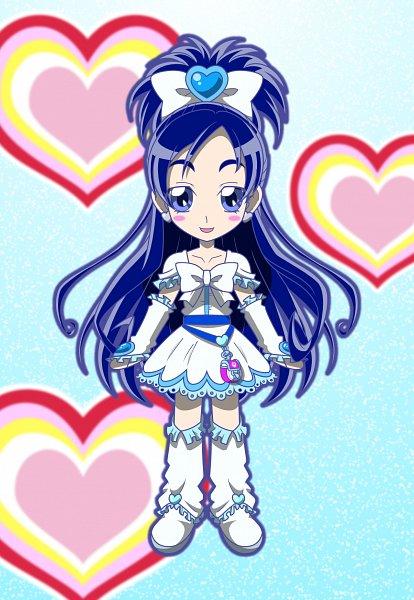 Tags: Anime, MT2Y-Monyo, Futari wa Precure, Cure White, Yukishiro Honoka, Arm Wrestling, Fanart, Pixiv, Fanart From Pixiv