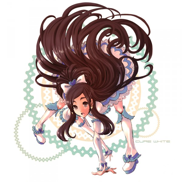 Tags: Anime, Ochakai Shinya, Futari wa Precure, Cure White, Yukishiro Honoka, Fanart, Pixiv