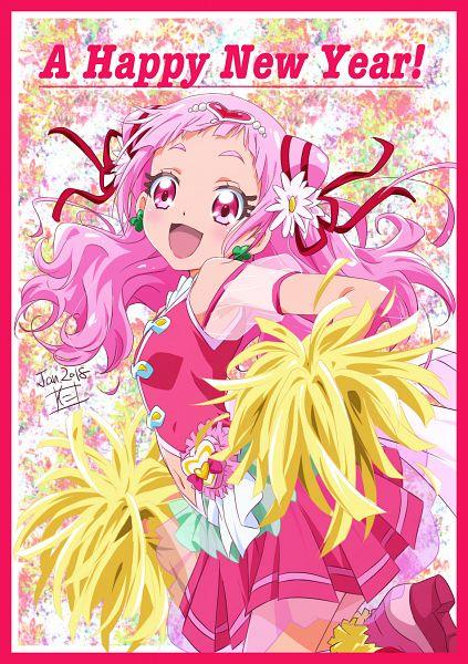 Tags: Anime, Pixiv Id 17089321, HUGtto! Precure, Nono Hana, Cure Yell, Fanart From Pixiv, Pixiv, Fanart, Happy 2018