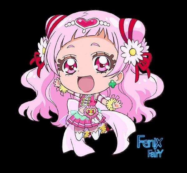 Tags: Anime, HUGtto! Precure, Nono Hana, Cure Yell, Fanart From DeviantART, deviantART, Fanart, Null
