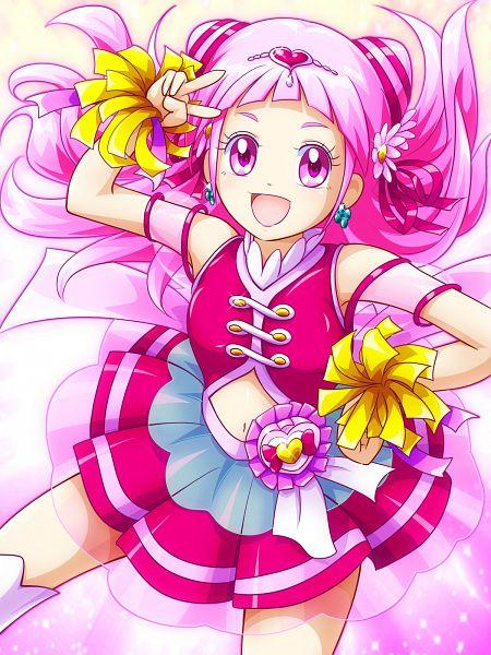 Tags: Anime, Pixiv Id 218489, HUGtto! Precure, Nono Hana, Cure Yell, Fanart From Pixiv, Pixiv, Wallpaper, Fanart, Twitter