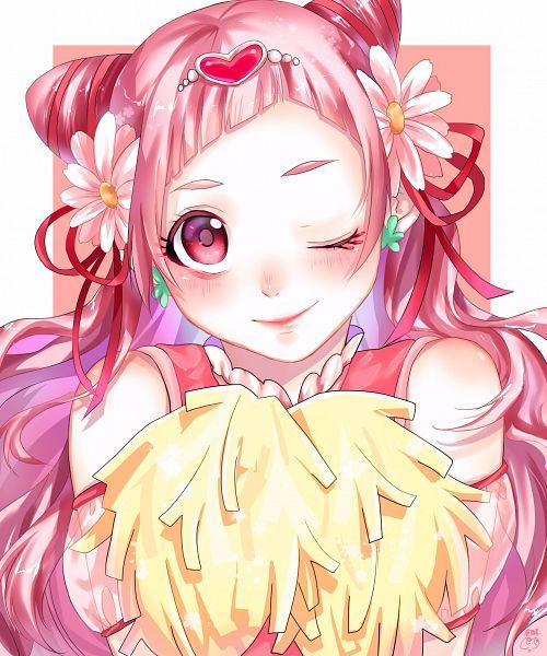Tags: Anime, Pixiv Id 14085400, HUGtto! Precure, Cure Yell, Nono Hana, Fanart From Pixiv, Pixiv, Fanart