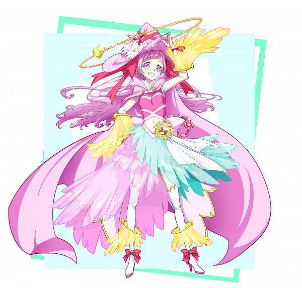 Tags: Anime, Pixiv Id 3411146, HUGtto! Precure, Nono Hana, Cure Yell, Pixiv, Fanart, Twitter, Fanart From Pixiv