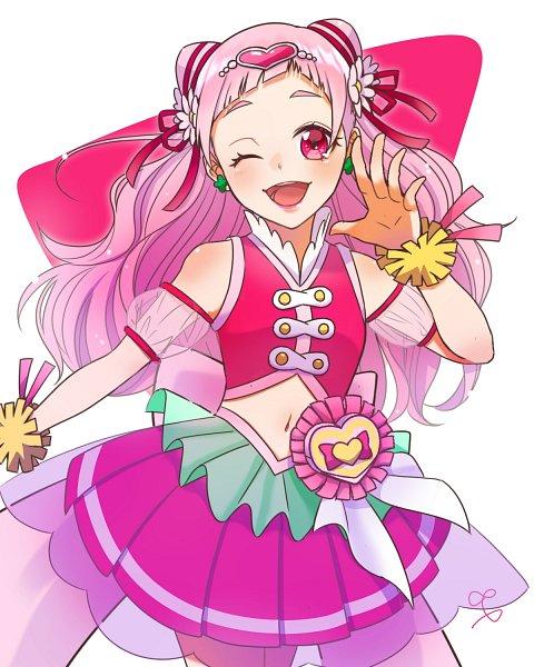 Tags: Anime, Pixiv Id 14245821, HUGtto! Precure, Nono Hana, Cure Yell, Twitter, Fanart From Pixiv, Pixiv, Fanart