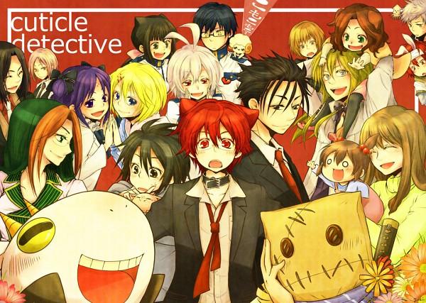 Tags: Anime, Pixiv Id 3025547, Cuticle Tantei Inaba, Don Valentino, Inaba Haruka, Stella (Cuticle Detective), Ogino Wakaba, Nozaki Kei, Natsuki (Cuticle Detective), Noa (Cuticle Detective), Soumei-san, Sasaki Yuuta, Ogata Yuzuki