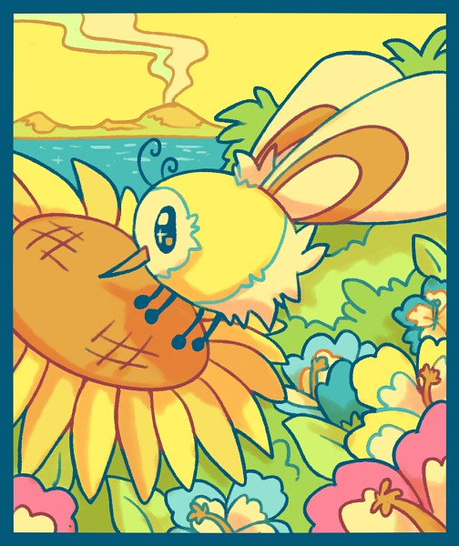 Tags: Anime, Chocodile, Pokémon, Cutiefly, Fanart, Tumblr, PNG Conversion