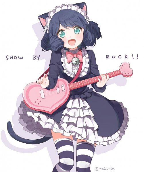 Tags: Anime, Pixiv Id 8571893, Show by Rock!!, Cyan (Show by Rock!!), PNG Conversion, Pixiv, Fanart, Fanart From Pixiv