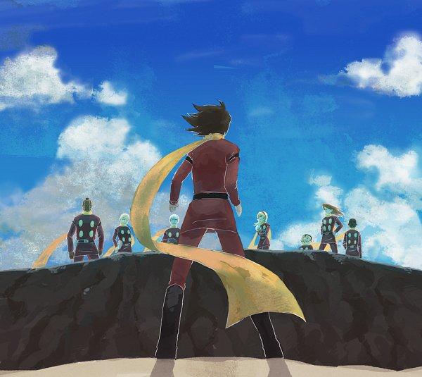 Tags: Anime, Pixiv Id 64689, Cyborg 009, Jet Link, Pyunma, Joe Shimamura, Chang Changku, Great Britain (Cyborg 009), Geronimo Junior, Françoise Arnoul, Albert Heinrich