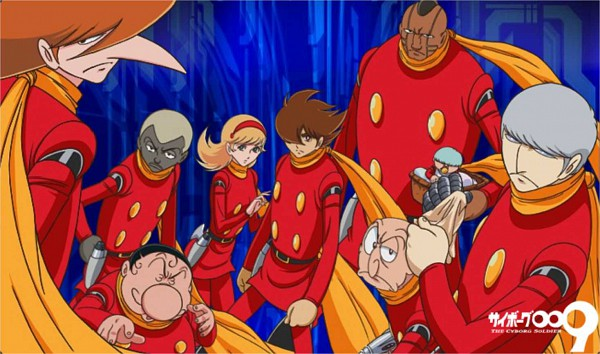Tags: Anime, Cyborg 009, Chang Changku, Joe Shimamura, Geronimo Junior, Great Britain (Cyborg 009), Albert Heinrich, Françoise Arnoul, Jet Link, Pyunma, Ivan Whisky