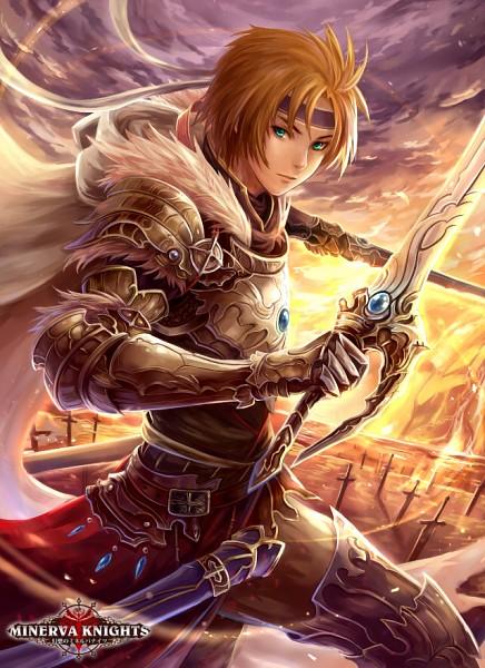 D'Arta of the Azure - Gensou no Minerva Knights