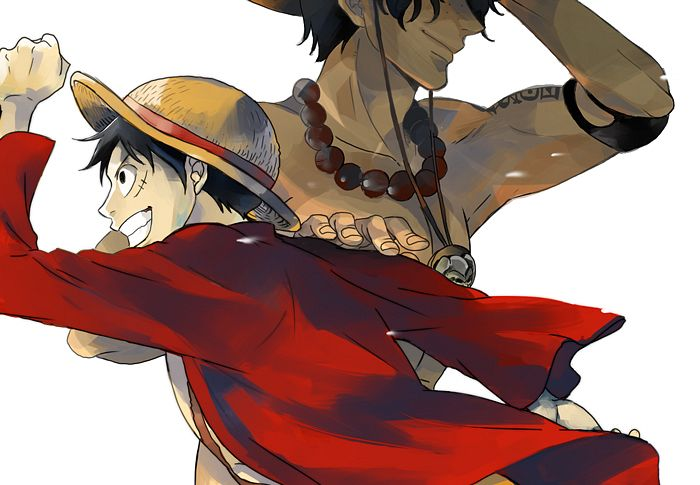 Tags: Anime, Pixiv Id 3035021, ONE PIECE, Portgas D. Ace, Monkey D. Luffy, Chest, One Piece: Two Years Later, D. Brothers