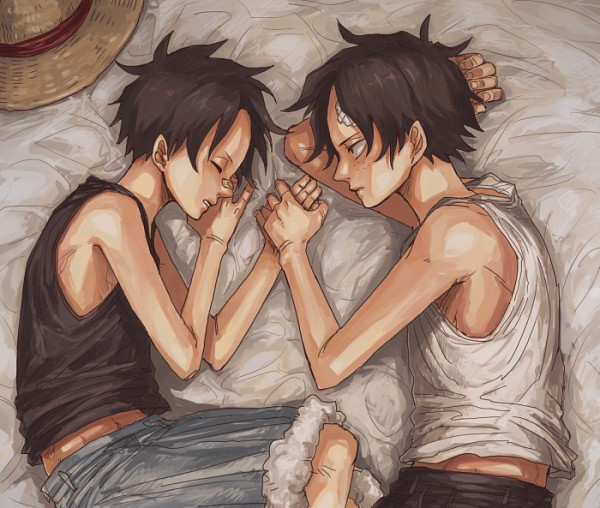 Tags: Anime, Crimson11, ONE PIECE, Portgas D. Ace, Monkey D. Luffy, Whitebeard Pirates, Straw Hat Pirates, D. Brothers