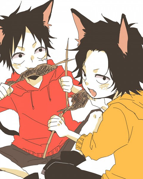 Tags: Anime, Pixiv Id 1034630, ONE PIECE, Portgas D. Ace, Monkey D. Luffy, Straw Hat Pirates, D. Brothers, Whitebeard Pirates