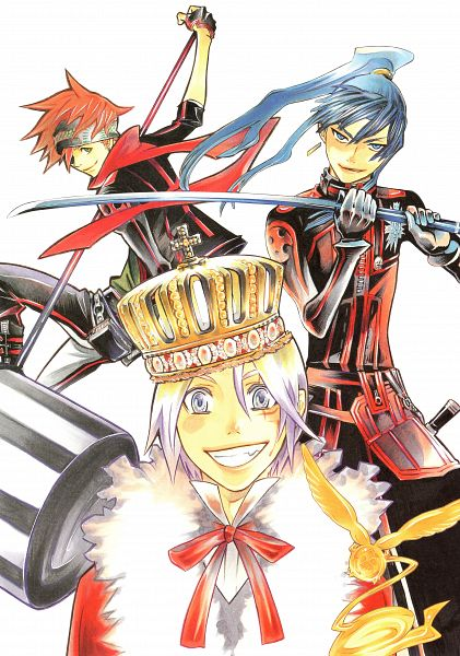 Tags: Anime, Hoshino Katsura, D.Gray-man, Noche - D.Gray-man Illustrations Artbook, Timcanpy, Mobile Wallpaper, Scan