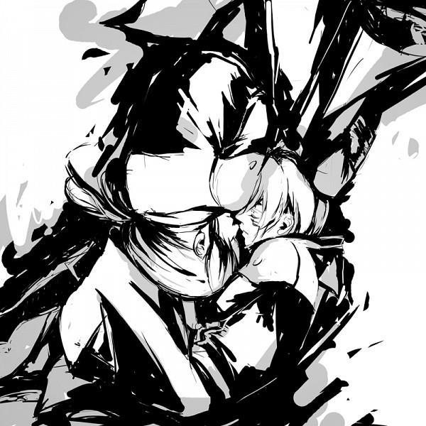 Tags: Anime, Setsushyo, D.Gray-man, Kanda Yuu, Allen Walker, Pixiv, Fanart, Sketch, Fanart From Pixiv