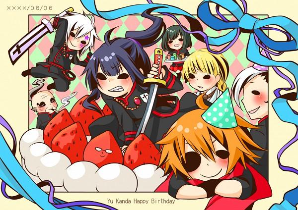Tags: Anime, Sakurako (Moutan), D.Gray-man, Howard Link, Kanda Yuu, Arystar Krory III, Lavi, Bookman, Allen Walker, Lenalee Lee, Pixiv