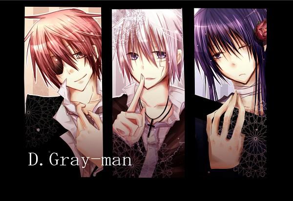 Tags: Anime, Hekikuu6, D.Gray-man, Kanda Yuu, Lavi, Allen Walker, Pixiv, Fanart