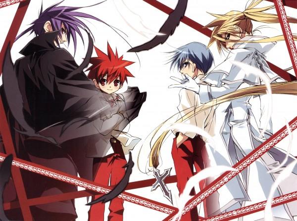 Tags: Anime, D.N.Angel, Dark Mousy, Krad, Hiwatari Satoshi, Niwa Daisuke, Artist Request