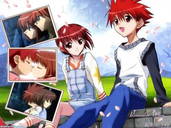 Tags: Anime, D.N.Angel, Niwa Daisuke, Harada Riku, Wallpaper