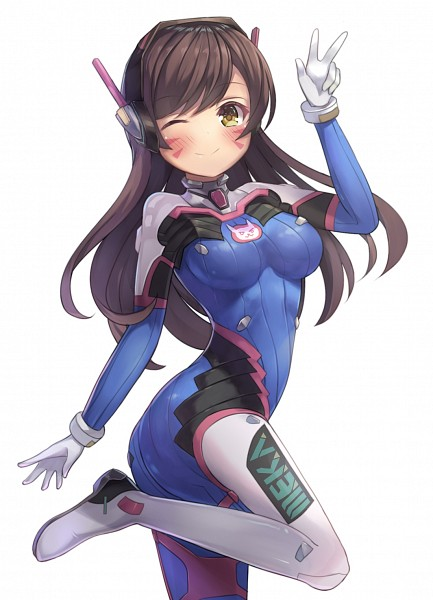 Tags: Anime, Pixiv Id 1836747, Overwatch, D.Va, Fanart From Pixiv, Mobile Wallpaper, Pixiv, Fanart
