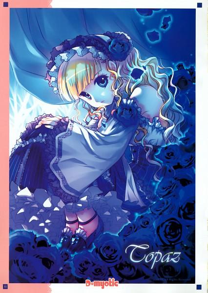 Tags: Anime, D myo, Dmyotic, Dmyotic 1.0, Pixiv, Scan, Mobile Wallpaper