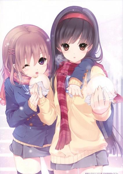 Tags: Anime, D myo, Shirahane Nao Volume 1, Dim Sum, Scan, Mobile Wallpaper