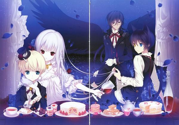 Tags: Anime, D myo, La vie en rose, Scan, Pixiv, Original