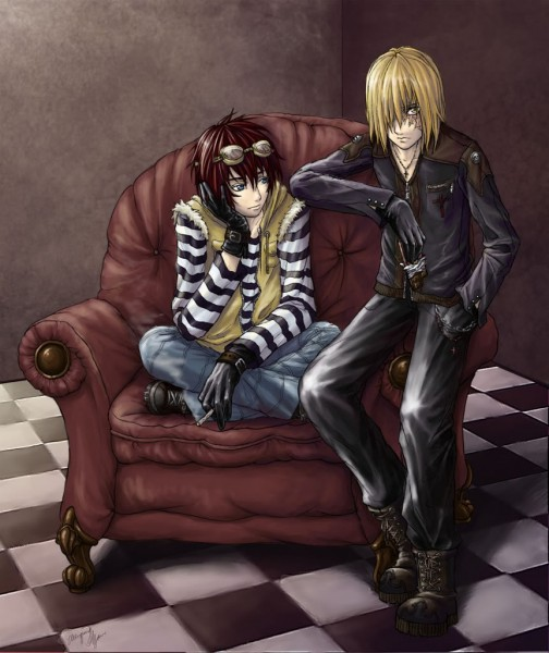Tags: Anime, Wenqing Yan, DEATH NOTE, Matt, Mello