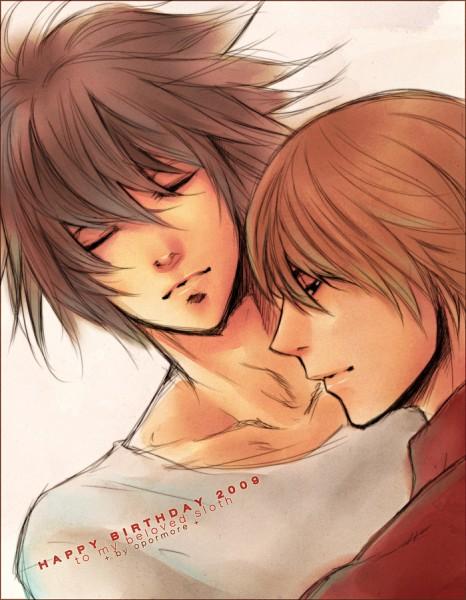 Tags: Anime, Opormore, DEATH NOTE, Yagami Raito, L Lawliet