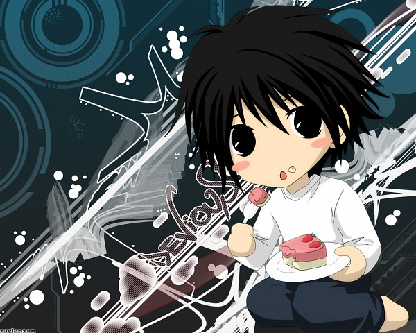 Tags: Anime, DEATH NOTE, L Lawliet