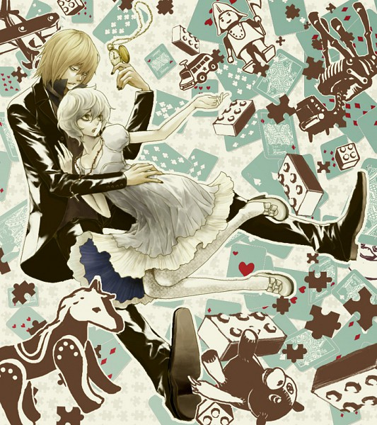 Tags: Anime, DEATH NOTE, Near, Mello, Artist Request