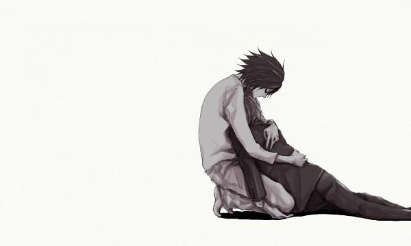 Tags: Anime, DEATH NOTE, Yagami Raito, L Lawliet, Artist Request