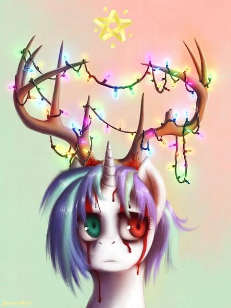 Tags: Anime, Klaufir, My Little Pony, DJ Pon-3, deviantART, Fanart, Fanart From DeviantART
