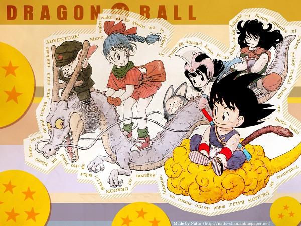 Tags: Anime, DRAGON BALL, Yamcha (DRAGON BALL), Chi-Chi, Bulma Briefs, Puar, Son Goku (DRAGON BALL), Oolong, Wallpaper