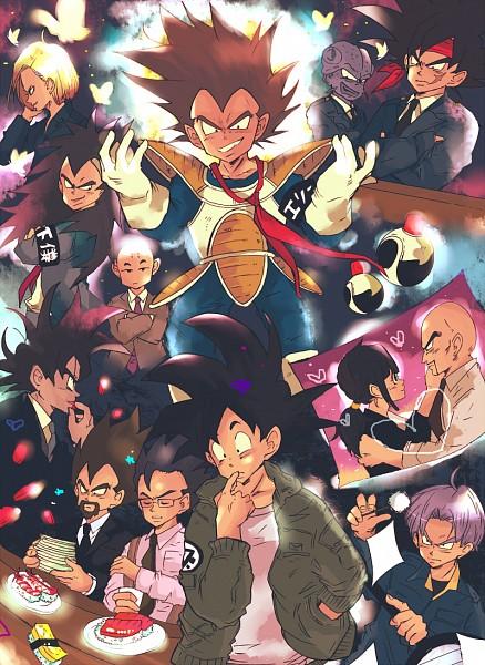 Tags: Anime, DRAGON BALL, DRAGON BALL Z, Bardock (DRAGON BALL), Son Goku (DRAGON BALL), Turles, Chi-Chi, Vegeta, Nappa, Android 18, Tarble, Krillin, Raditz