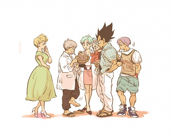 Tags: Anime, Amepati, DRAGON BALL, DRAGON BALL Z, Bulma Briefs, Trunks Briefs, Vegeta, Bra (DRAGON BALL), Globe