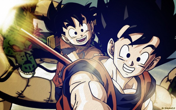 Tags: Anime, Toriyama Akira, DRAGON BALL, DRAGON BALL Z, Son Gohan, Son Goku (DRAGON BALL), Shenron, Chinese Dragon, Wallpaper