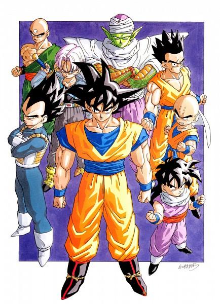 Tags: Anime, Toriyama Akira, Toei Animation, DRAGON BALL, DRAGON BALL Z, Piccolo, Krillin, Son Goku (DRAGON BALL), Vegeta, Yamcha (DRAGON BALL), Son Gohan, Ten Shin Han, Trunks Briefs
